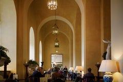 Kawiarnia w muzeum Zdjęcia Stock