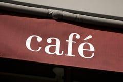 kawiarnia znak Obrazy Royalty Free