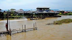 Kawiarnie na Inle jeziorze, Myanmar zbiory