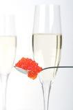 kawioru szampan Obraz Stock