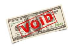 Kawitacyjny USA pieniądze zdjęcie royalty free