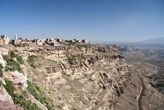 Kawkaban mountain village near sanaa yemen Royalty Free Stock Photo