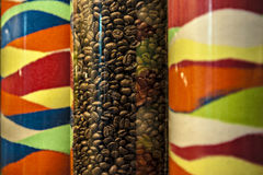 Kawowa fasola Zdjęcia Royalty Free