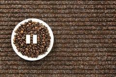 Kawowa fermata Obraz Royalty Free