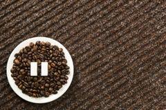 Kawowa fermata Obraz Stock