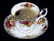 kawowa gorąca herbata Fotografia Royalty Free