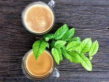 Kawowa kawa espresso gorąca Fotografia Stock