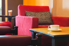 Kawowa kawiarnia Fotografia Stock