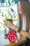 Kawowa lub herbaciana przerwa Fotografia Royalty Free
