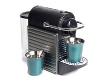 Kawowa maszyna obraz stock