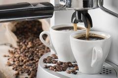 Kawowa maszyna Zdjęcia Royalty Free