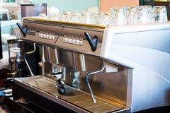 Kawowa maszyna Fotografia Stock