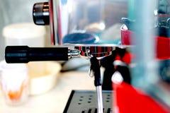 Kawowa maszyna w sklep z kawą Fotografia Stock