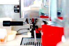 Kawowa maszyna w sklep z kawą Obraz Royalty Free