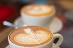Kawowa opóźniona miękka ostrość Obrazy Royalty Free