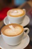 Kawowa opóźniona miękka ostrość Obraz Stock
