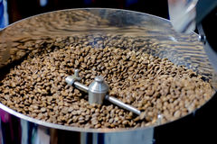 Kawowa prażak maszyna obrazy stock