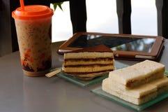 Kawowa przerwa Zdjęcia Royalty Free