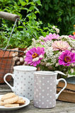Kawowa przerwa Fotografia Royalty Free