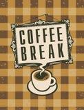 Kawowa przerwa Zdjęcie Stock