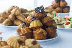 Kawowa przerwa, catering biznesowa konferencja Fotografia Stock
