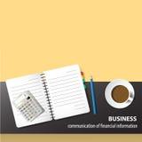 Kawowa przerwa i biznes Zdjęcie Stock