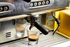 Kawowa robi maszyna Fotografia Stock