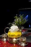 kawowa rozrywka kwitnie czas wolny Zdjęcie Stock