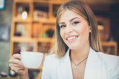 Kawowa sposób przerwa obrazy royalty free