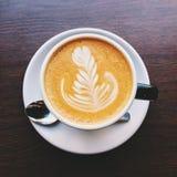 Kawowa sztuka Zdjęcia Royalty Free