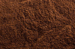 kawowa zmielona tekstura Zdjęcie Stock