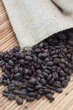 Kawowe fasole Obraz Royalty Free