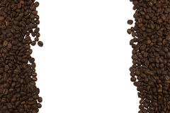 Kawowe fasole na granicie wizerunek Fotografia Stock