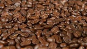 Kawowe fasole na stole Obraz Stock