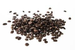 Kawowe fasole odizolowywać Zdjęcia Stock
