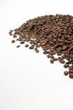 Kawowe fasole odizolowywać Obrazy Stock