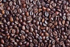 Kawowe fasole w filiżance Zdjęcie Stock