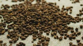 Kawowe fasole w nieładzie zbiory