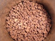 Kawowe granule Obraz Royalty Free