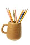 kawowego kubka ołówki Obrazy Stock