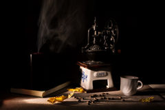 kawowego kwiatu wysoki wizerunku postanowienia temat Zdjęcie Royalty Free
