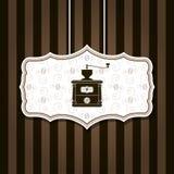 Kawowego młynu tło Zdjęcie Royalty Free