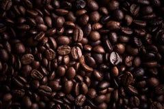 Kawowej fasoli tło Zdjęcia Royalty Free