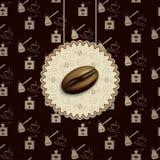 Kawowej fasoli tło Zdjęcia Stock