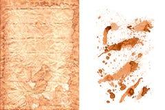Kawowej plamy ustalona kolekcja Obraz Stock