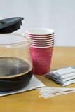 Kawowej przerwy zbliżenie Obraz Royalty Free