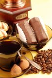 kawowi ciasteczka Obraz Royalty Free