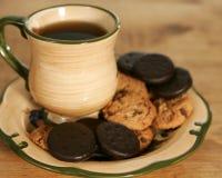 kawowi ciasteczka Zdjęcie Royalty Free