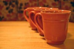 Kawowi kubki Zdjęcie Stock