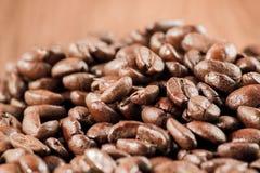 Kawowy bobowy tło Obrazy Royalty Free